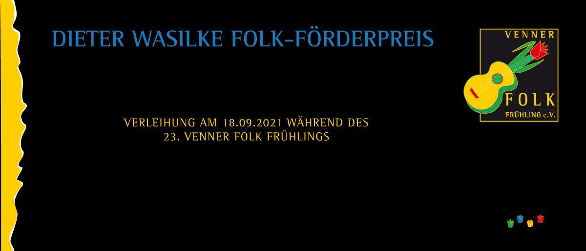 Permalink zu:Dieter Wasilke Folk-Förderpreis
